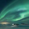 Myvatn Aurora over the Skútustaðagígar Pseudocraters  - 6