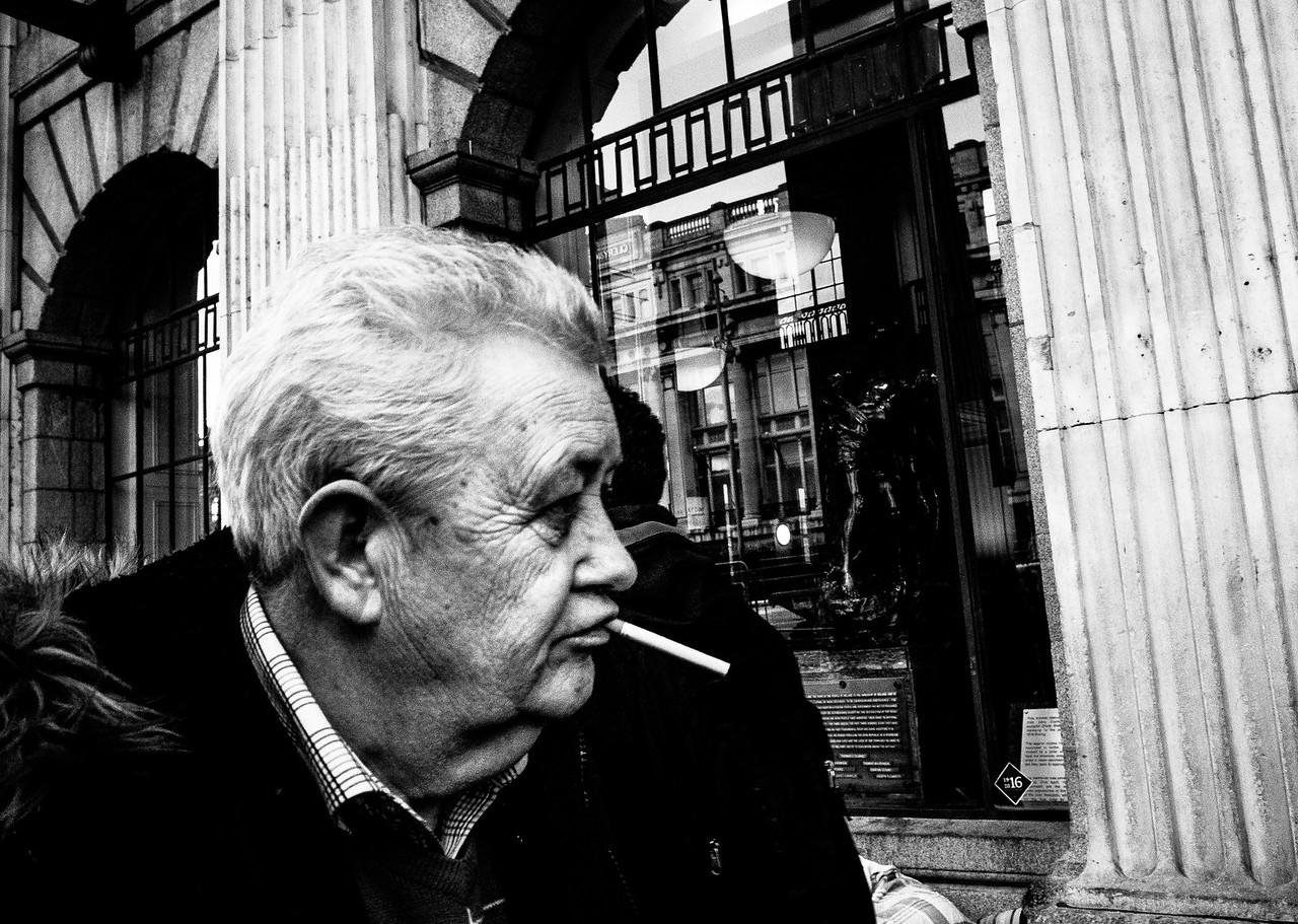 Street life in Dublin