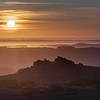 Sunrise Over Hound Tor