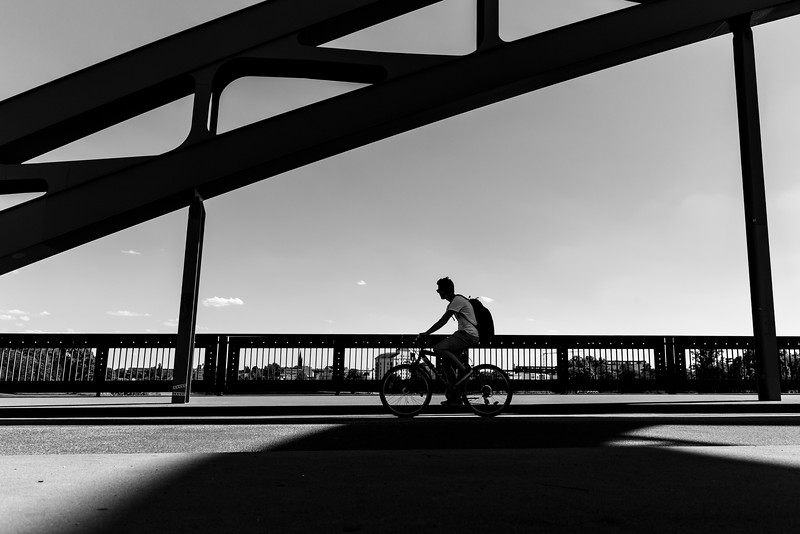 Cycling on the Bridge