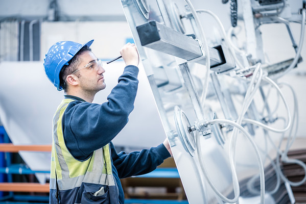 Alluminium Sheet Inspection tkA Newtownards.