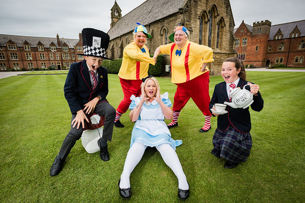 Mad Hatters Tea Party at Rossall School