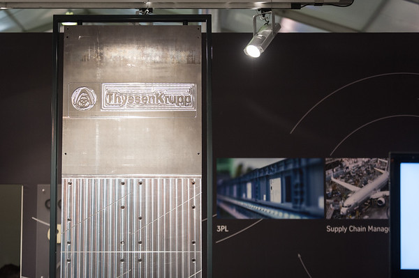 thyssenkrupp at the Farnborough Airshow 2014