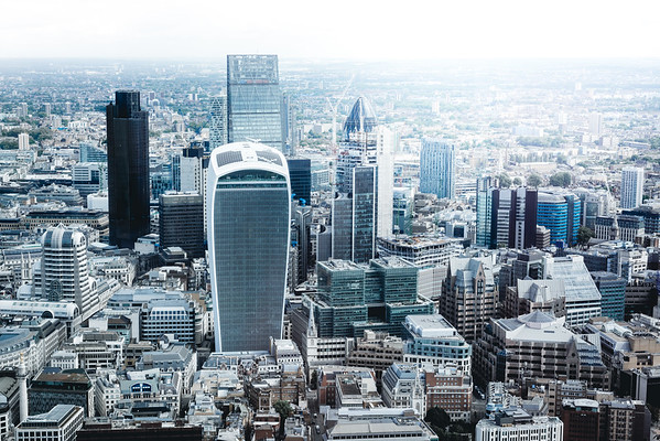 City of London from the Shard.