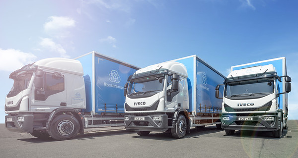tkM new trucks at Cox's Lane