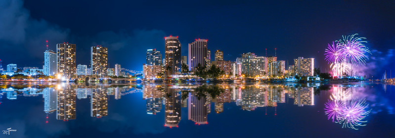 Waikiki Harbor Fireworks