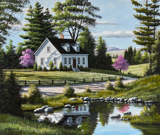 Cottage in the  Country