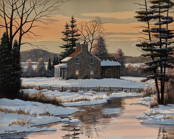 Fieldstone Farmhouse