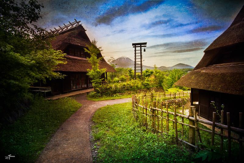 Mt. Fuji's Small Village