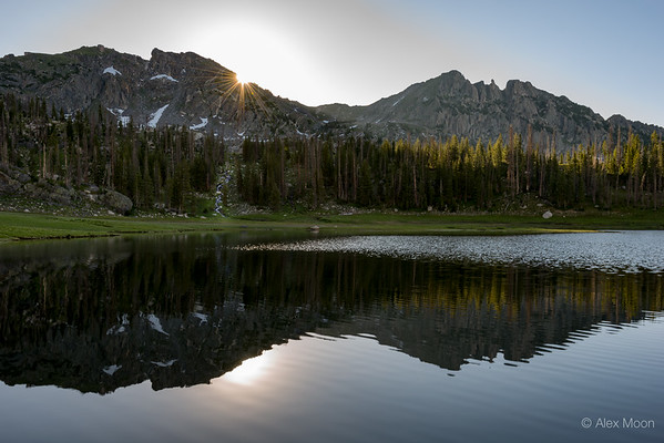 Daybreak over Mica Lake