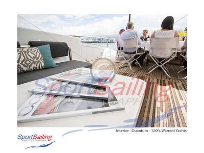 Shoot for Ocean Media on board Quantum, 120ft Super Yacht