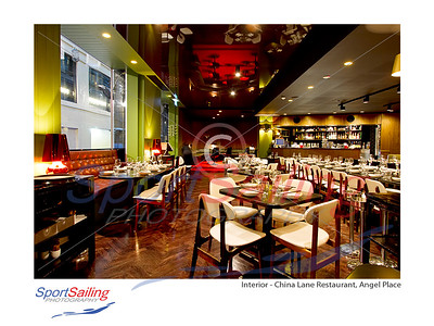 Interior Shoot - China Lane Restaurant, Angel Place, for Loop Creative