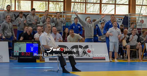 Bundesliga Doppelkampftag Männer Frauen München Großhadern April 2018 Leipzig Wiesbaden_BT_NIKON D4_20180414__D4B1996