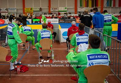 Abstand, Bundesliga Finale 2020 Männer Senftenberg, Corona_BT__D5B4289