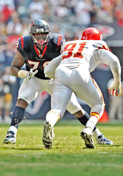 Oct 17 2010:  <br /> Houston Texans offensive tackle Rashad Butler #78 in action in a game between Kansas City Chiefs and the Houston Texans at Reliant Stadium in Houston, Texas.<br /> Houston wins 35-31<br /> (Credit Image: © Manny Flores/Cal Sport Media)