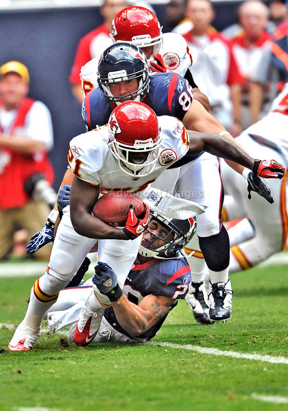 17 Oct 2010:  <br /> Kansas City Chiefs defensive back Javier Arenas #21 in action<br /> in a game between the Kansas City Chiefs and the Houston Texans at Reliant Stadium in Houston, Texas.<br /> Houston wins 35-31