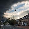 Storm cloud over Biggar, Lanarkshire