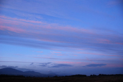 Stormy sunset, Auchencorth Moss