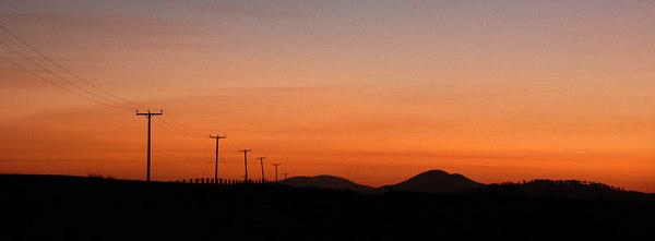 Sunset, Auchencorth Moss