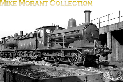 NER T. W. Worsdell desihned J21 class 0-6-0 no. 1596 was built at Gateshead in 1892 and was renumbered to 5108 by the LNER in 1946. The BR '6' prefix was never applied and 5108 was withdrawn at Neville Hill shed in October 1949. [Mike Morant collection]