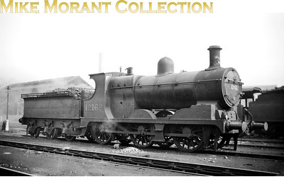 L&YR Aspinall 3F 0-6-0 no. 12162 with a 26B Agecroft shed plate. 12162 moved to Wigan L&Y in November 1948 (not what the BRDatabase tells us) where it acquired BR branding in May 1951 becoming 52162 in the process. [Mike Morant collection]