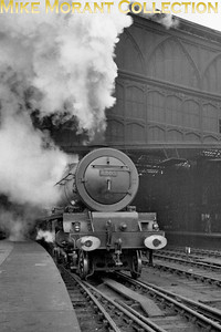 LMSR Stanier 8P pacific no. 6205 Princess Victoria departs from Carlisle Citadel c. 1935. [Mike Morant collection]