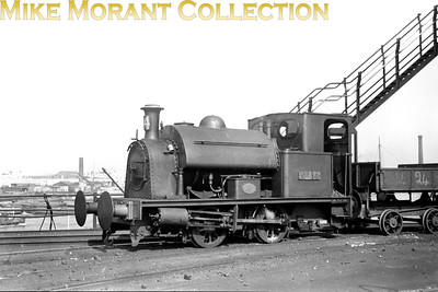 SEGB, South Eastern Gas Board 0-4-0ST no. 14 was built in 1909 by Hawthorn Leslie with works no. 2790 and is depicted here, undated, at East Greenwich gas works. [Mike Morant collection]
