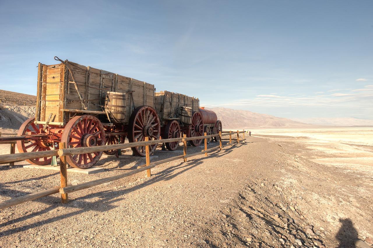 20 Mule Wagon Train to Transport Borax