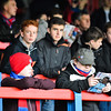 fans prior to the Vanarama Conference Premier match between Aldershot Town and Eastleigh at the EBB Stadium Aldershot (photo by Paul Paxford/Pitchside Photo)