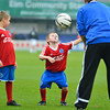 Mascots in action prior to the Vanarama Conference Premier match between Aldershot Town and Eastleigh at the EBB Stadium Aldershot (photo by Paul Paxford/Pitchside Photo)