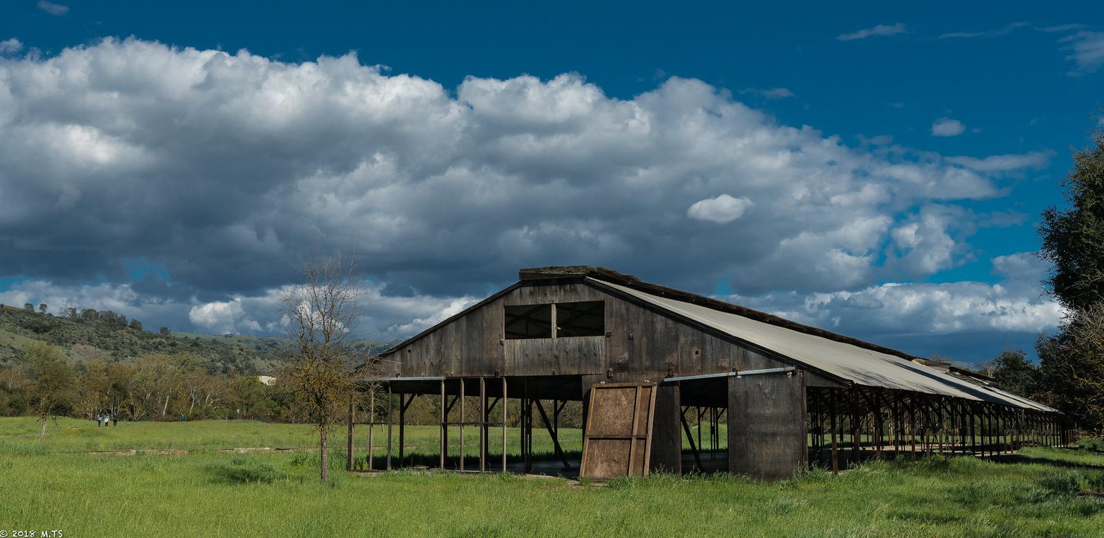 Barn at Coyote Creek Bike Trail