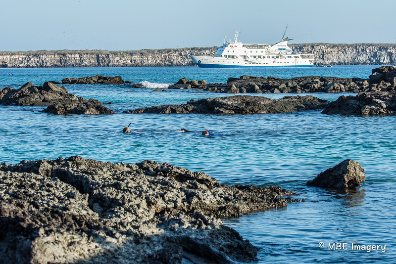M/V Eclipse and Snorkelers