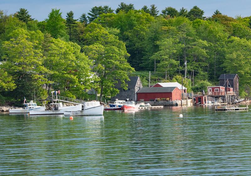 Bremen, Maine Harbor