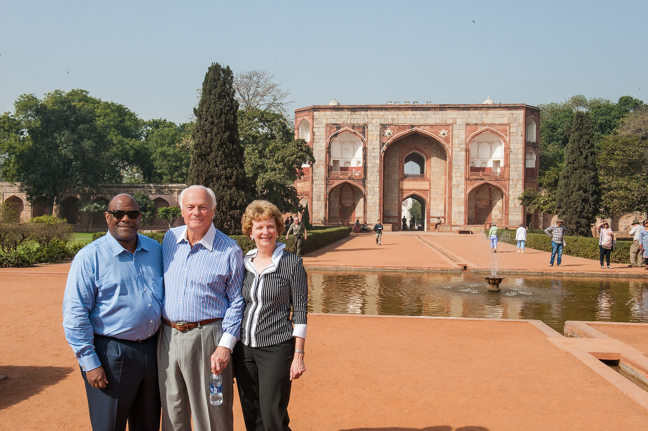 CTSH Board Members at Humayun's Tomb