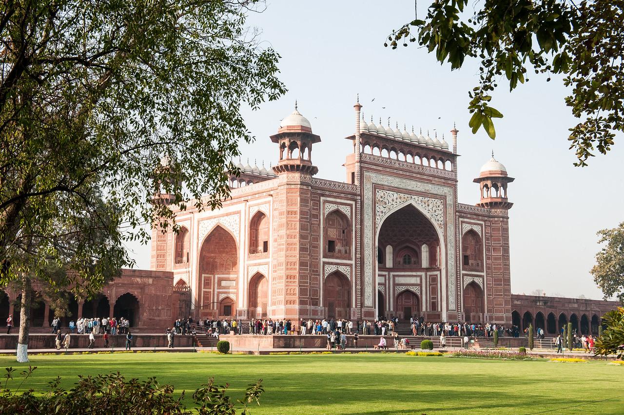 Great Gate to the Taj Mahal