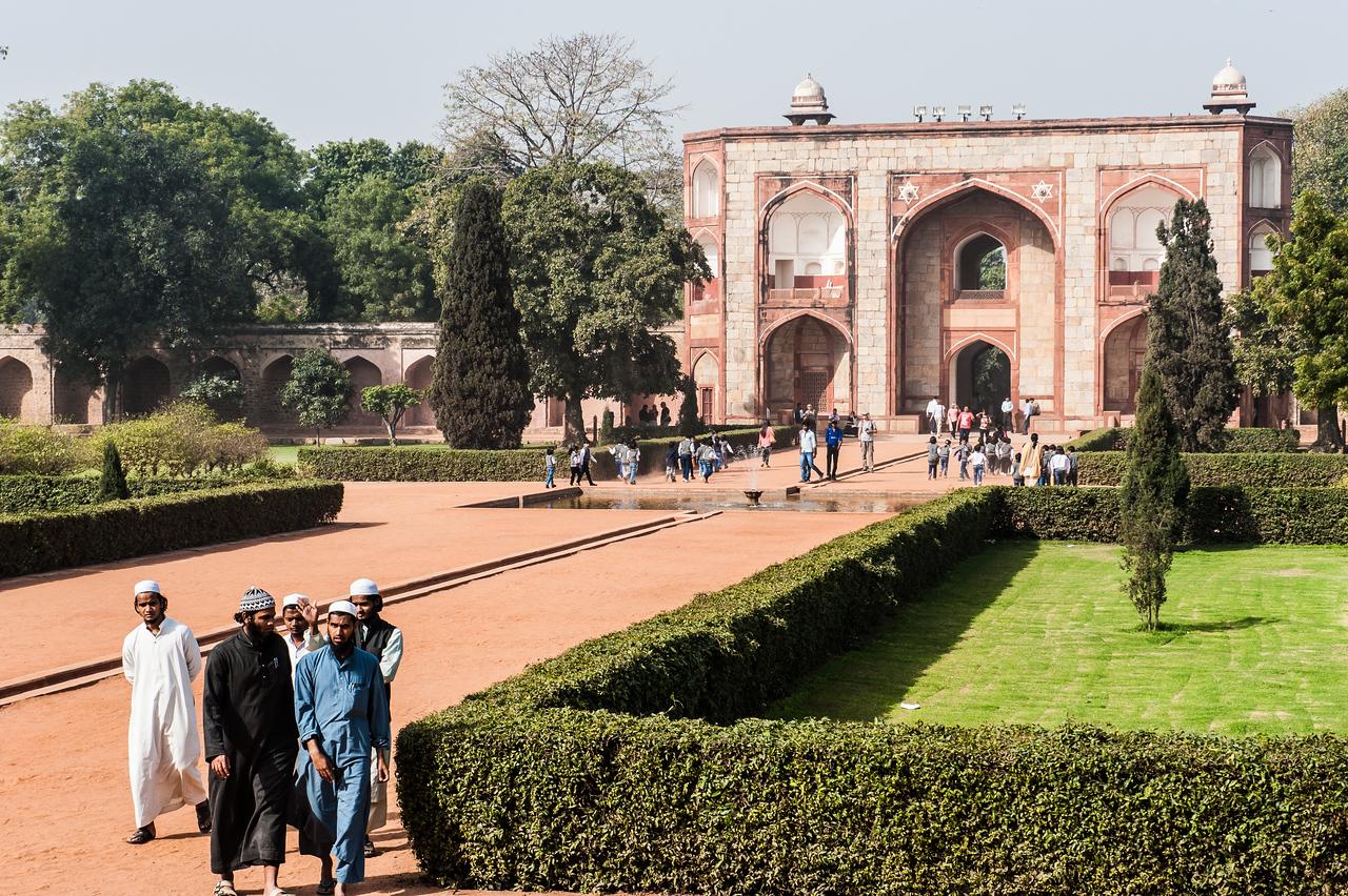 Gate to Humayun's Tomb