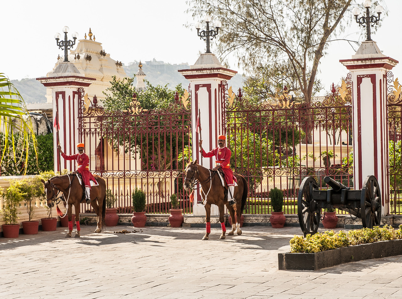 Udaipur at the City Palace