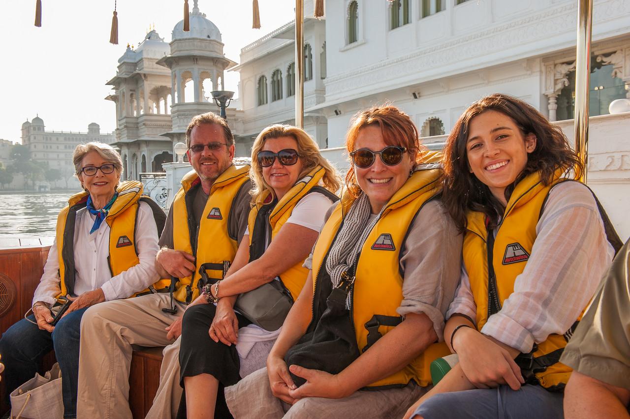 Boat transfer at Lake Palace, Udaipur