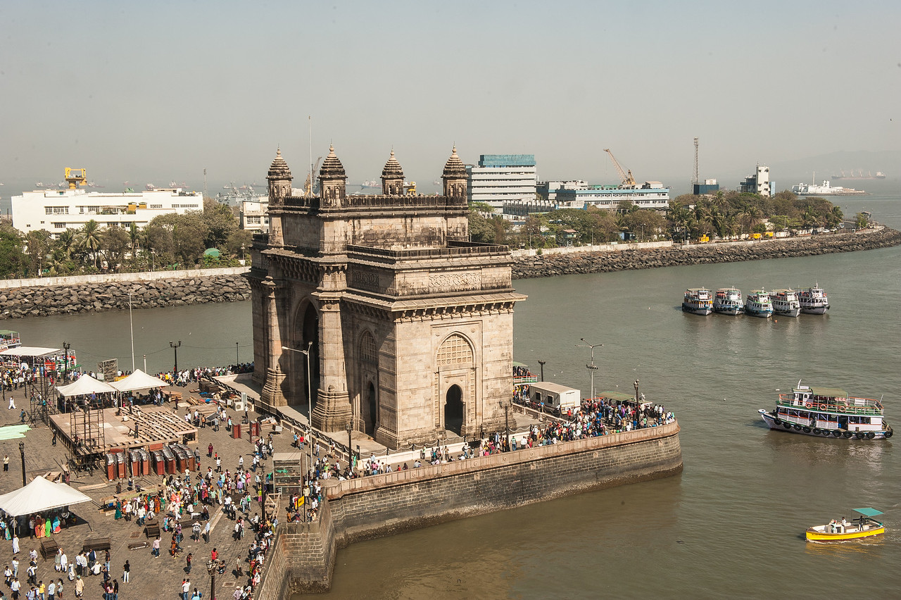 City Gate, Mumbai Harbor