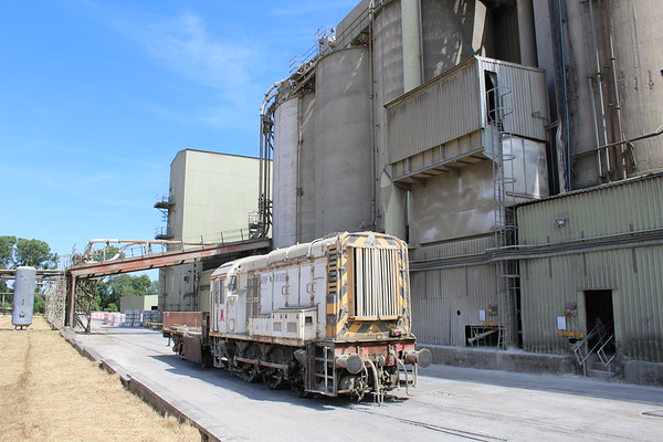 08870 at Ketton Cement Works.  01.07.18