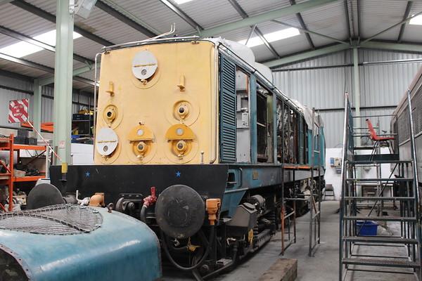 20048 undergoes a major overhaul at the MRC Swanwick. 16.06.18