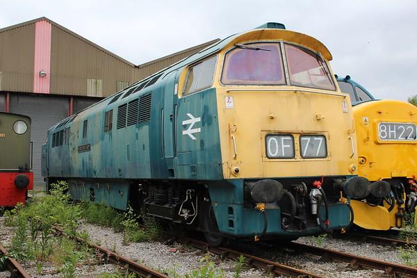 D1048 at Swanwick. 16.06.18