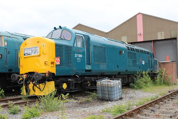 37190 at Swanwick. 16.06.18