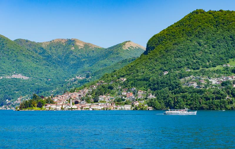 Sunny Day on Lake Como