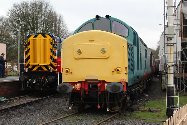 37263 at Spring Village on the Telford Steam Railway. 31.03.18