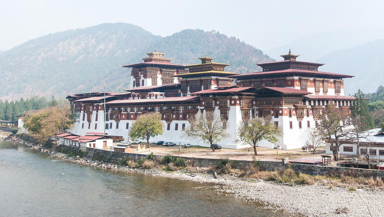 """Punakha Dzong - """"Palace of Great Happiness"""""""