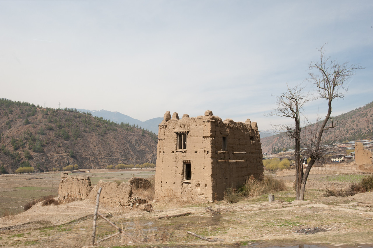 Ancient Traditional Housing Structure, Bhutan