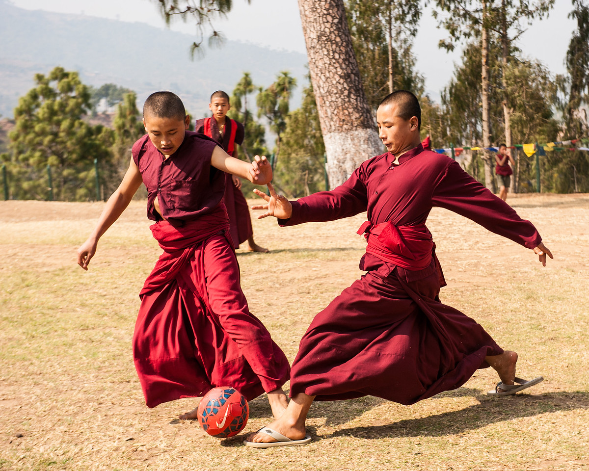 Monks Just want to Have Fun!