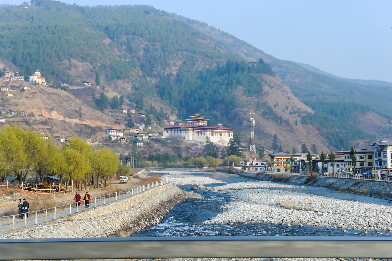 River Scene, Bhutan