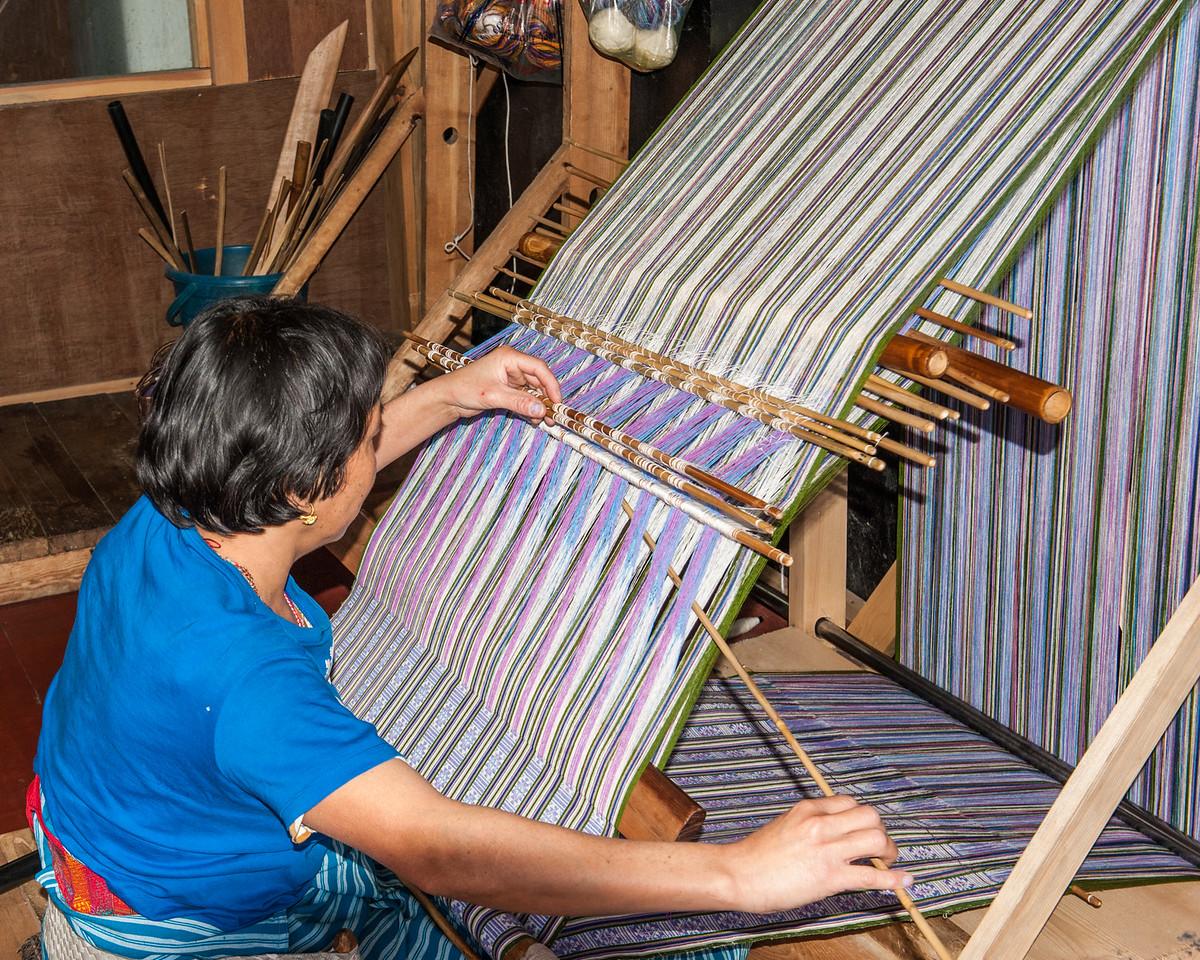 Weaving Handicraft, Thimphu, Bhutan